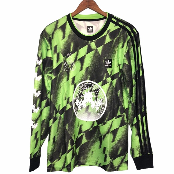 Adidas Men's Allover Print Club Jersey Size Small